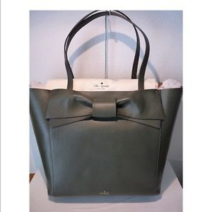 Kate Spade Bow Olive Tote